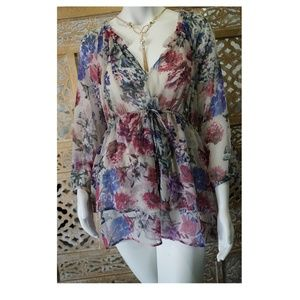Jessica Simpson Maternity floral top